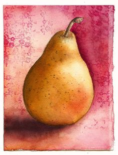 Pear with Pink by marthalever, via Flickr