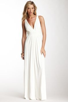 Belfort Maxi Dress If we ever renew our vows I want to be on the beach with our kids in something like this! Simple and perfect!