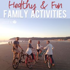 Oh What to Do in the Summer Time...Healthy Fun Family Activities | howdoesshe.com #summeractivities #familyactivities