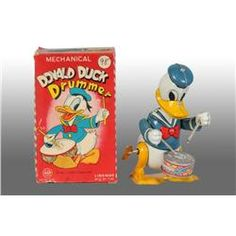 Mechanical Donald Duck Drummer, without box, 178,03 € (27/12/13)
