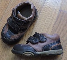 Stride Rite Boys Brown Shoes Size 5 1/2 W #StrideRite #CasualShoes
