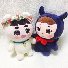 Buy EXO KaiSoo Doll Jongin Kyungsoo in Singapore,Singapore. ----- PO LISTING ----- Taking order for this doll In stock, but it's from overseas. Limited stock !! 1 set available at the movement. 1 set = 2 dolls. Kai Chat to Buy