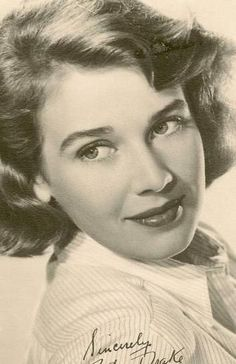 Betsy Drake (born September 11, 1923) is an American actress and writer. She was the third wife of actor Cary Grant.