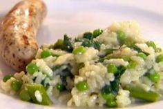 Garden Risotto Recipe : Ellie Krieger : Food Network - FoodNetwork.com