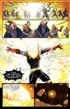 Ghost Rider (Alejandra Jones): Hellfire Nova Penance Stare 2 Spirit Of Vengeance, Marvel, Final Fantasy Vii, Comic Page, Ghost Rider, Spiderman, Nova, Comics, Awesome