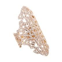 Repossi Pink Gold & Diamond Maure Ring