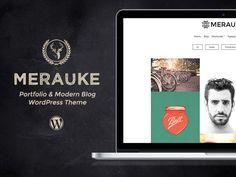 Merauke - Portfolio & Modern Blog by Themes Awesome on @creativework247