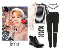 """""""Jimin on ASC Inspired"""" by btsoutfit Korean Fashion Kpop, Kpop Fashion Outfits, Korea Fashion, Korean Outfits, Teenager Outfits, Outfits For Teens, Cute Casual Outfits, Stylish Outfits, Army Clothes"""