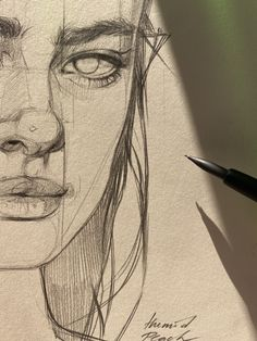 Art Sketchbook Aesthetic Pencil – Art World 20 Cool Art Drawings, Pencil Art Drawings, Art Drawings Sketches, Drawing Ideas, Easy Drawings, Disney Drawings, Pencil Sketches Of Faces, Horse Drawings, Animal Drawings