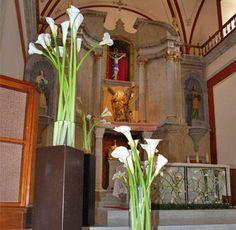 Decoración en la iglesia / Boda / FLOREMIA