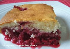 Les plats cuisinés de Esther B: Pouding aux framboises Pudding Recipes, Bread Recipes, Dessert Recipes, Muffins, Esther, Pound Cake, Holiday Baking, Gluten Free Recipes, Sweet Tooth