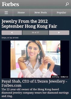 Your very own Payal Shah on Forbes! -- http://www.forbes.com/pictures/ehgm45ihhe/payal-shah-ceo-of-ldezen-jewellery/