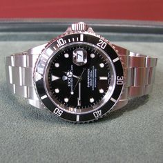 #Rolex #Submariner #Date #Steel – #2001 – #SEL – #K #Serial #Jewelry #The #Antiques #Room #Galway #Ireland €5,750 Iwc, Breitling, Mens Fashion Suits, Mens Suits, Luxury Watches, Rolex Watches, Rolex Submariner No Date, Galway Ireland, Automatic Watch