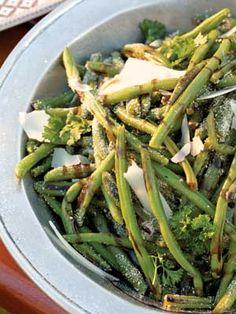 Balsamic-Parmesan Green Beans