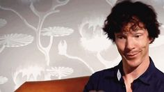 """When Benedict met Sherlock"" -- I don't know why I find this hilarious, but I so do!"