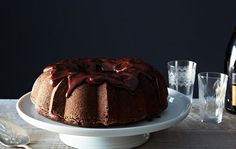 Chocolate-Mashed Potato Cake with Ganache Recipe