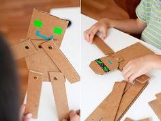 Бумажные и картонные игрушки своими руками - Блог «Наши Супердетки» - MySlo.ru