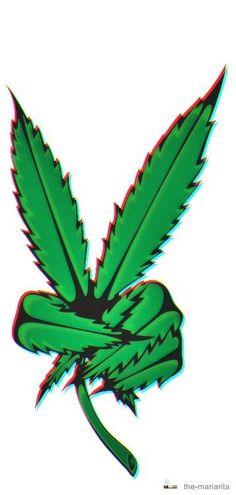 Peace sign pot leaf | Tattoos | Pinterest | Peace Signs ...