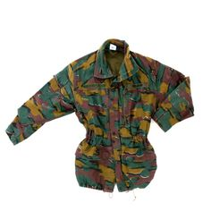 Belgium Army Jigsaw pattern Camo issued Field Jacket Military Camouflage, Military Jacket, Army Shop, Camouflage Patterns, Shops, Men Casual, Trending Outfits, Belgium, Mens Tops