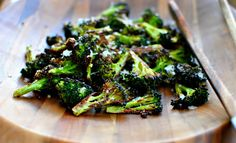 Perfect Roasted Broccoli with Parmesan Cheese | Recipes | NoshOn.It. Roasting broccoli at a high temperature makes the edges crispy and caramelized and a grating of parmesan cheese turns a basic dish into something special.