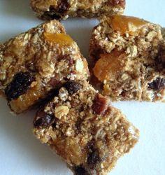Apricot Pecan Granola Bars #vegan