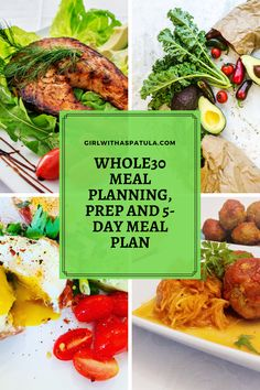 Whole30 Meal Planning and Prep has become a hurdle and you just don't know where to start. Don't worry, I've got you covered! #whole30 #mealplan #mealprep 5 Day Meal Plan, Whole 30 Meal Plan, Meal Prep, Paleo Whole 30, Whole 30 Recipes, Great Recipes, Favorite Recipes, Weeknight Meals, Easy Meals