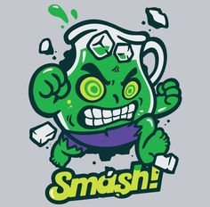 Super Punch: Hulk Kool-Aid Man mashup