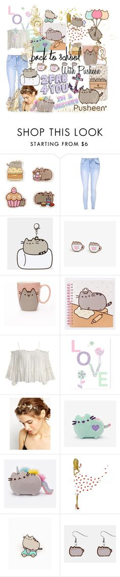 """""""#PVxPusheen"""" by i-love-cassandra-clare ❤ liked on Polyvore featuring Pusheen, Glamorous, Sans Souci, ASOS, LARA, contestentry and PVxPusheen"""