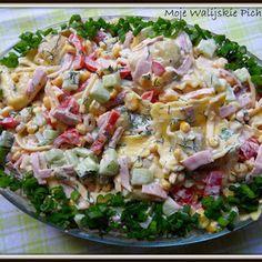 Sałatka ziemniaczana - kulinaria sałatka,ziemniaki - kobiece inspiracje Ravioli, Polish Recipes, Polish Food, Potato Salad, Grilling, Cabbage, Potatoes, Vegetables, Cooking