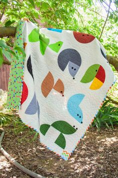 Live a Colorful Life: Blogger's Quilt Festival, Spring 2015: Animal Planet  xxx