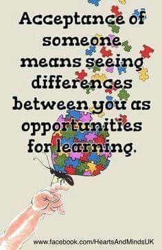 ღღ Autism... Not limited to... Keep an open mind and heart
