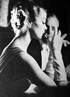Jean Patchett by Peter Basch (from Peter Basch's Photo Studies 1957 - A Fawcett HOW-TO BOOK)