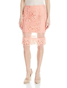 JOA Women's Lace Midi Skirt with Organza Contrast, Peach, Small J.O.A. http://www.amazon.com/dp/B00V0W895U/ref=cm_sw_r_pi_dp_WFxbwb1DC2ABJ