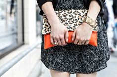 MCLV Style: Black & White | Moi Contre La VieMoi Contre La Vie - Animal prints & vintage gold jewelry