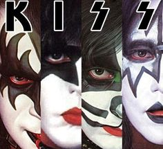 Image in KISS collection by jenni on We Heart It Rock N Roll, Classic Rock And Roll, Kiss Songs, Kiss Group, Kiss World, Rock Band Posters, Vintage Kiss, Kiss Art, Gene Simmons