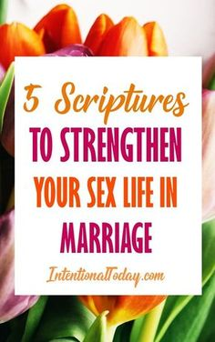 When a wife is tired or overwhelmed, her sex life can begin to feel like her husband's invention, not God's good idea. 5 verses to change that.