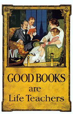 Good Books Are Life Teachers