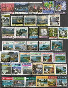 NEW ZEALAND Used selection of commemoratives, on their way.....