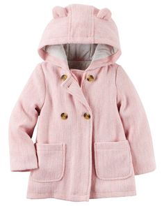 Baby Girl Wool Peacoat from Carters.com. Shop clothing & accessories from a trusted name in kids, toddlers, and baby clothes.