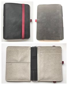 creativelyorganised My arrived! I got the black with red elastic, going to stuff it with lovely things! Roterfaden, Hobonichi, Stickers, Bullets, Lovely Things, Edc, Planners, Stationary, Journals