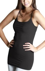 4ad7b0e8be Pretty much my favorite tank ever!!Nikibiki Seamless Extra Long Camisole  Tank Casual Tops