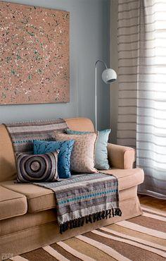 10 jeitos charmosos de decorar o canto do sofá
