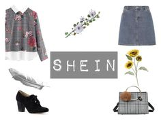 """""""shein"""" by jessieistrefi on Polyvore featuring Lands' End, A.P.C. and Pier 1 Imports"""