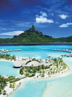 ボラボラ島(フランス領ソシエテ諸島) Bora Bora(Society Islands)