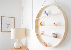 DIY Circle Wood Shelf | Easy Woodworking Projects