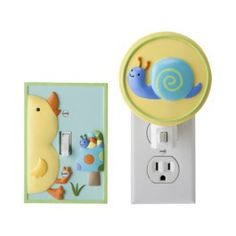 Tiddliwinks In The Pond Night Light & Switch Plate Combo   $16.99