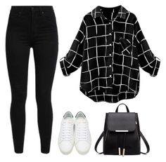 """Untitled #192"" by addie-lee on Polyvore featuring Levi's and Yves Saint Laurent"