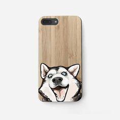Smiling Husky iPhone 7 Case Dog iPhone 6 Plus Case Phone