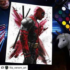 Deaspool . . . #deadpool2 #deadpool #ryanreynolds #marvel #marvelcomics #Draw #Drawing #Art #Fanart #Artist #Illustration #Design #sketch #doodle #tattoo #Arthelp #Anime #Manga #Otaku #Gamer #Nerdy #Nerd #Comic #Geek #Geeky