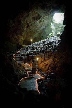 Limestone caves of Ishigaki Island, Japan